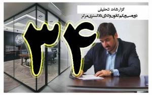 گزارش تحلیلی دکتر سهیل طاهری درخصوص سی و چهارمین جلسه هیات مدیره کانون وکلای مرکز/34